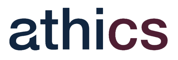 Our logo athics cognitive science. We develop artificial intelligence solutions