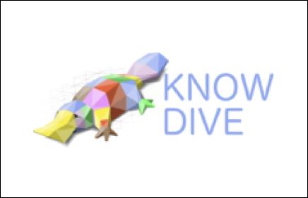 Logo partner tecnologico know dive specializzato nello sviluppo di algoritimi di Machine Learning e analisi dei Big Data