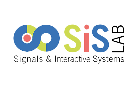 Logo partner tecnologico sis lab Signals and interactive system specializzato nella comprensione ed interpretazione delle conversazioni uomo - macchina.
