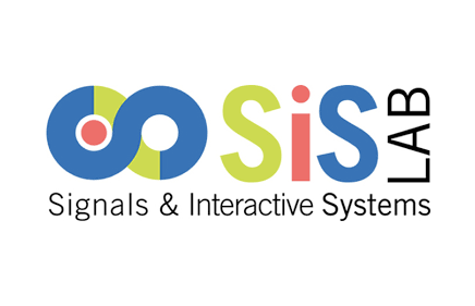 Logo of our technological partner (sis lab Signals and interactive system), specialized in artificial intelligence solutions and human-machine conversations.