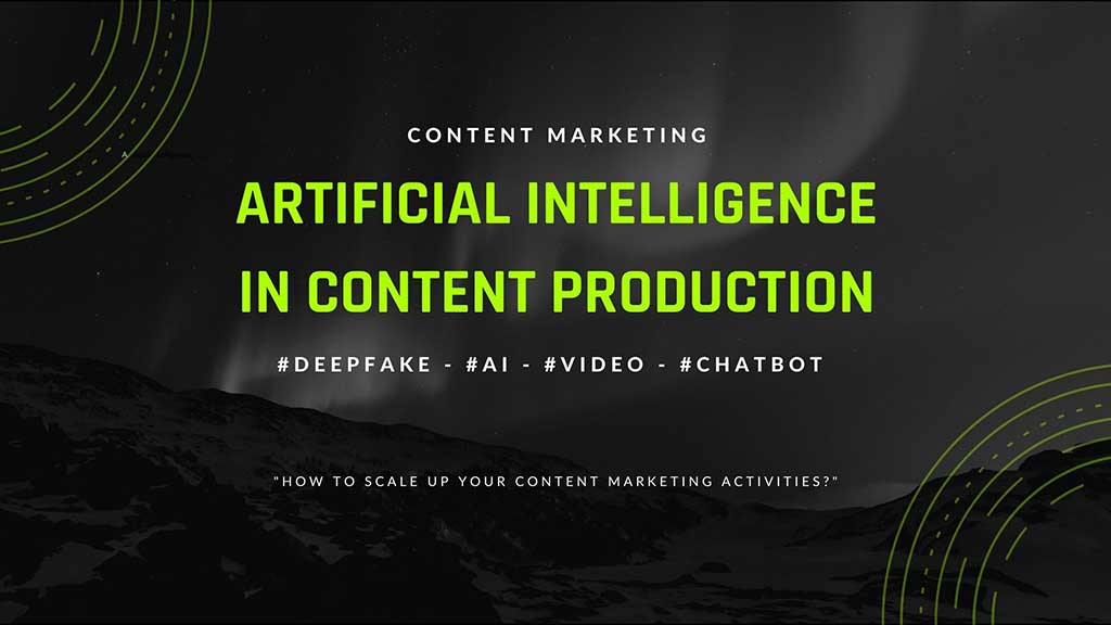 Artificial Intelligence in content marketing