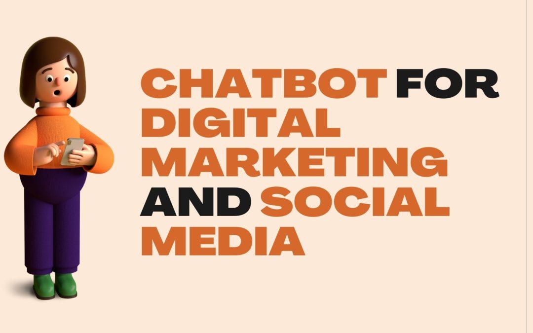chatbots for digital marketing