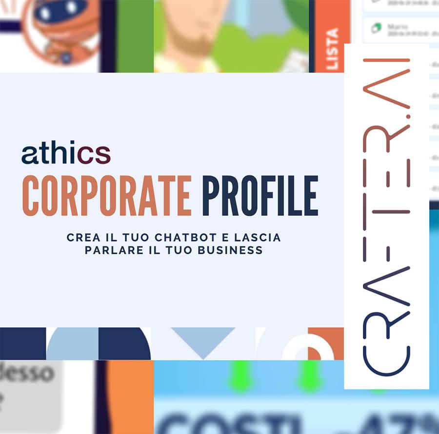 Anteprima athics srl corporate profile in italiano
