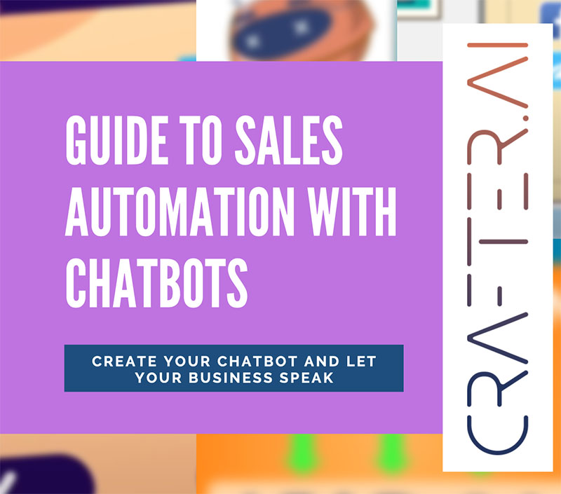 Thumb guide to sales automation with chatbots crafter ai english version