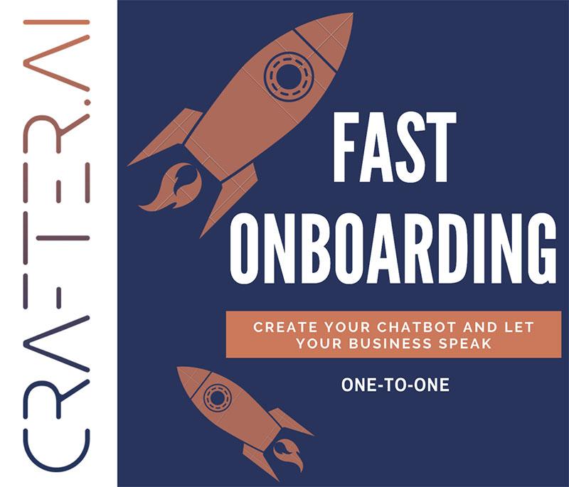 onboarding crafter ai chatbot platform