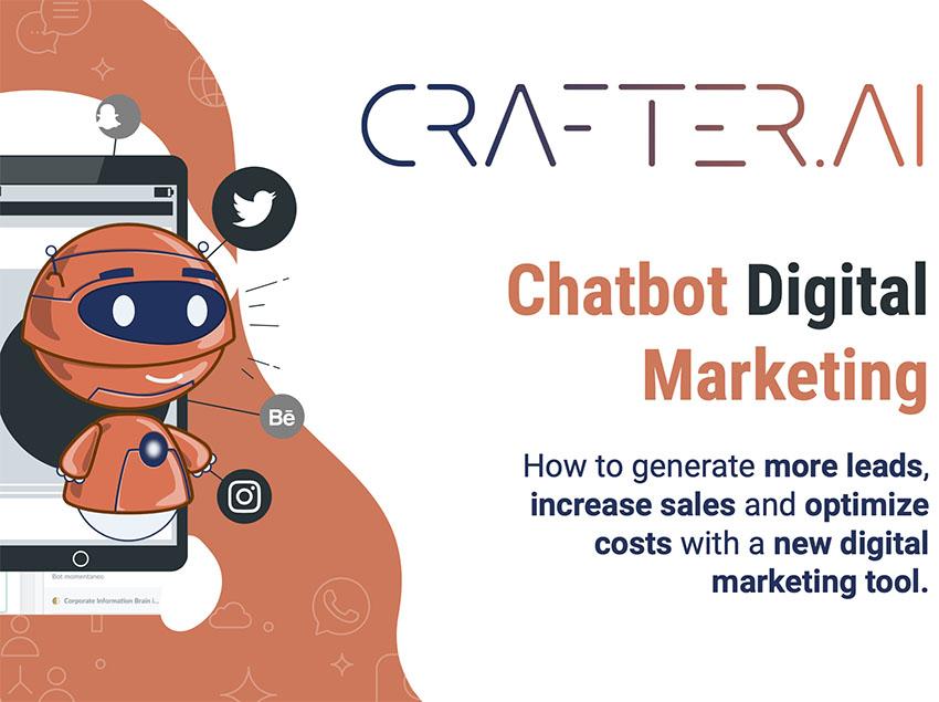 thumb chatbot digital marketing crafter ai
