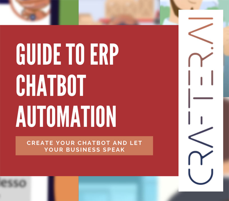 thumb guide to erp chatbot automation by crafter ai