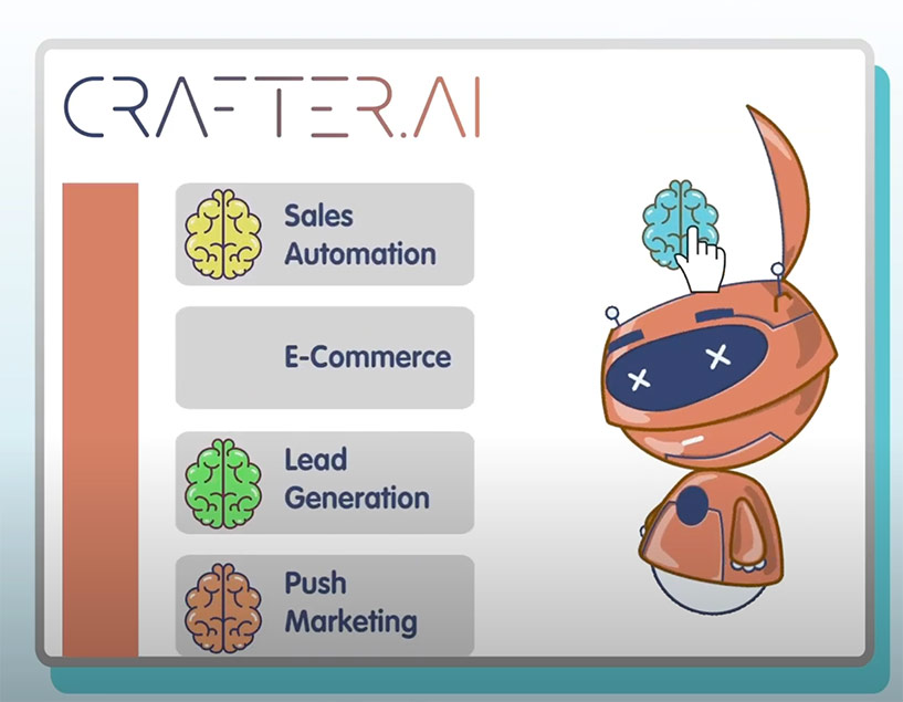 how to increase sales with chatbot conversational ai agents crafter ai