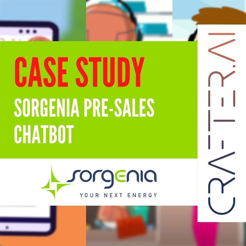 Cover Case Study Sorgenia pre sales chatbot